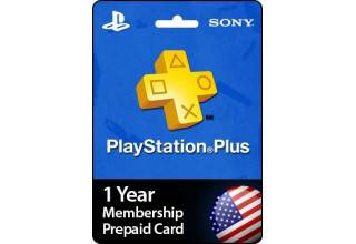 PSN Plus 12Month - US