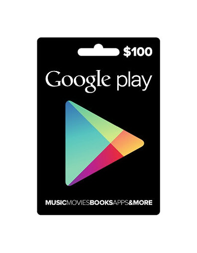 Google Play $100 Gift Card