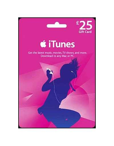 iTunes £25 Gift Card
