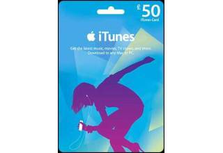 iTunes £50 Gift Card