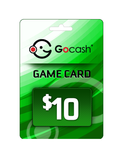 GoCash $10 Game Card