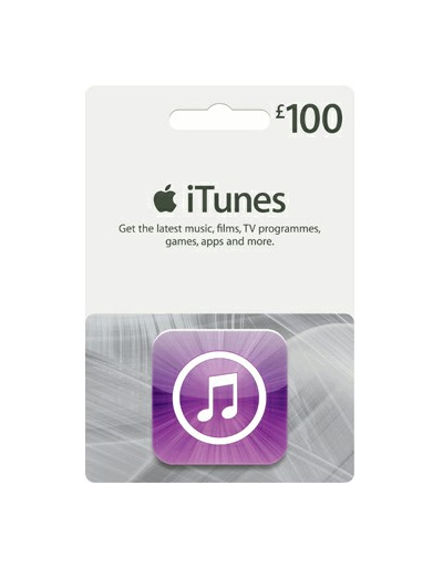 iTunes £100 Gift Card