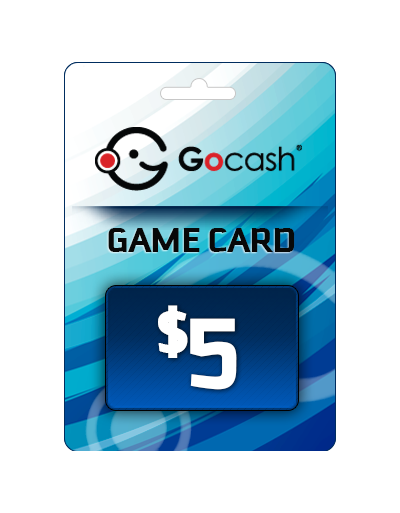 GoCash $5 Game Card