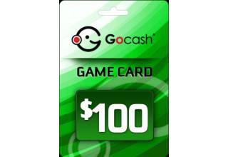 GoCash $100 Game Card