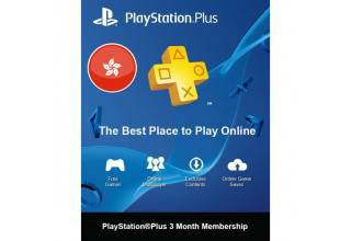 PSN Plus 3Month H-Kong