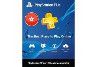 PSN Plus 12Month H-Kong