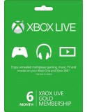 Xbox Live Gold 6Month