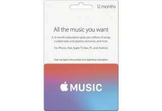 Apple Music 12 Months - UK