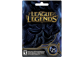 League of Legends $25