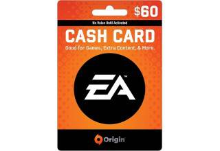EA Origin $60 Game Card