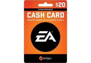 EA Origin $20 Game Card