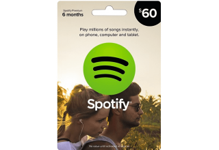 Spotify 60usd Gift-Card
