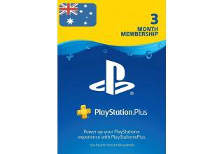 PSN Plus 3Month استرالیا